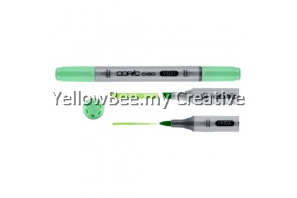 Copic Ciao Marker Set 6pc Bright Colors Alcohol Dual Headed Art Pen for Drawing Animation Cartoon Manga Artists Graphic